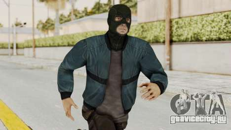 Wanted Weapons Of Fate Chicago Grunt Masked для GTA San Andreas