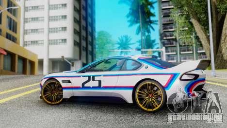2015 BMW CSL 3.0 Hommage R для GTA San Andreas вид слева