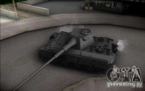 Panther II для GTA San Andreas вид изнутри