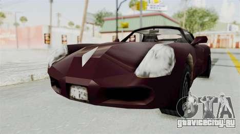 GTA 3 Stinger для GTA San Andreas вид справа