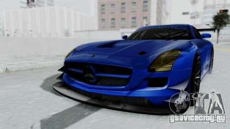 Mercedes-Benz SLS AMG GT3 PJ5 для GTA San Andreas вид справа