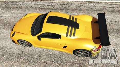 Ruf CTR3 v1.1 для GTA 5 вид сзади