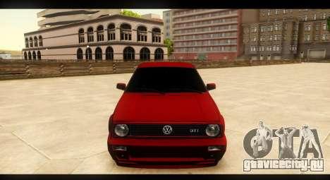 Volkswagen Golf GTI Mk2 для GTA San Andreas вид сбоку
