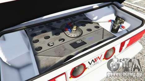 BMW M3 (E30) 1991 v1.3 для GTA 5 вид спереди справа