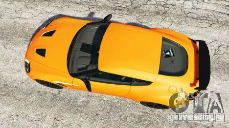 Aston Martin V12 Zagato v1.2 для GTA 5 вид сзади