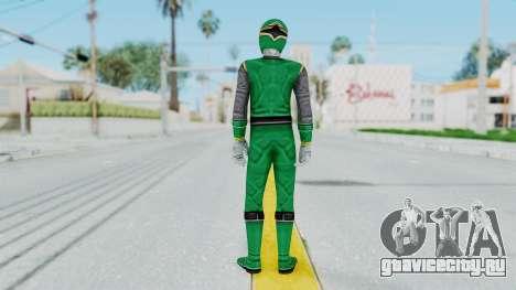 Power Rangers Ninja Storm - Green для GTA San Andreas третий скриншот