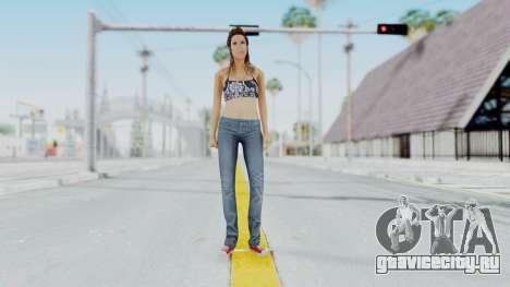 GTA 5 Liz (Elisa Macallen) для GTA San Andreas второй скриншот