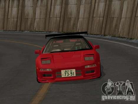Honda NSX (NA1) Time Attack для GTA San Andreas вид изнутри