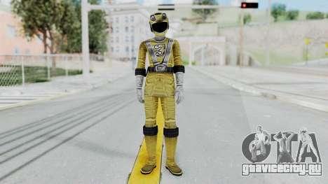 Power Rangers RPM - Yellow для GTA San Andreas второй скриншот
