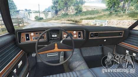 Oldsmobile Delta 88 1973 v2.0 для GTA 5 вид сзади справа