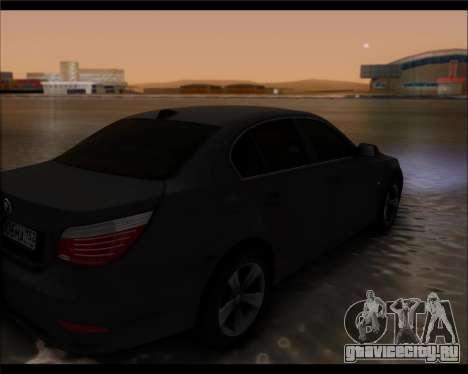 BMW 530xd stock для GTA San Andreas вид слева
