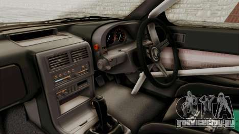 Mazda RX-7 1990 (FC3S) Cordelia Glauca Itasha для GTA San Andreas вид изнутри