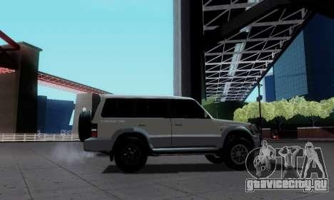 Mitsubishi Pajero 2 для GTA San Andreas вид сзади слева