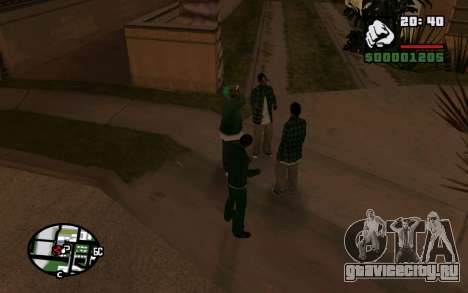 CJ Animation ped для GTA San Andreas второй скриншот
