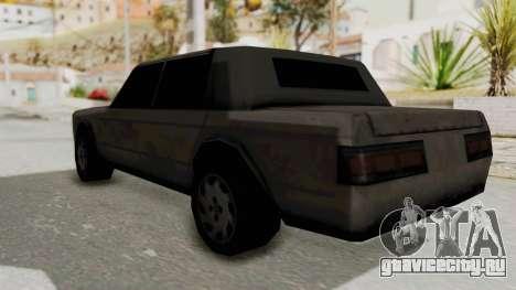 Greenwood from Manhunt для GTA San Andreas вид сзади слева