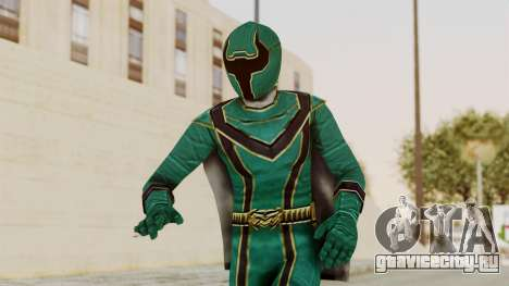 Power Rangers Mystic Force - Green для GTA San Andreas