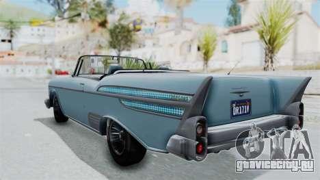 GTA 5 Declasse Tornado No Bobbles and Plaques для GTA San Andreas вид слева