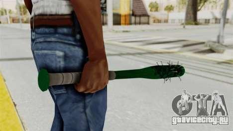 Nail Baseball Bat v1 для GTA San Andreas третий скриншот