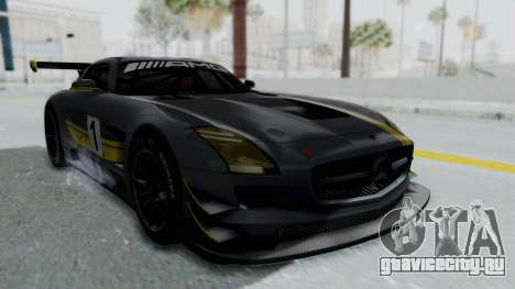 Mercedes-Benz SLS AMG GT3 PJ5 для GTA San Andreas двигатель