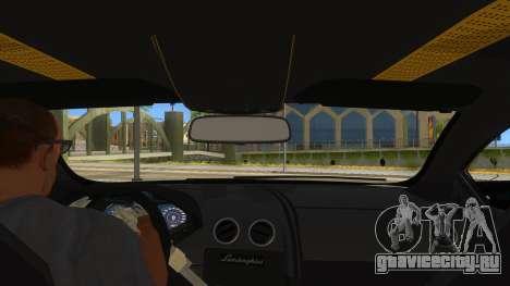 Lamborghini Reventon Monster Truck для GTA San Andreas вид изнутри