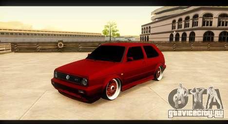 Volkswagen Golf GTI Mk2 для GTA San Andreas