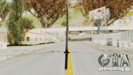 Skyrim Iron Wakizashi для GTA San Andreas