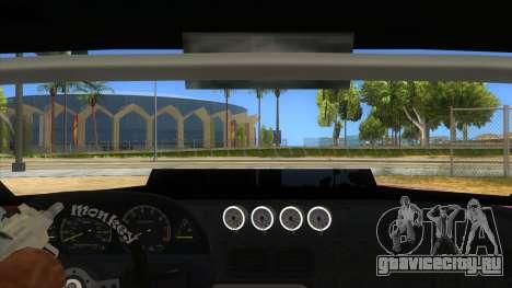 Elegy Tio Sam Style для GTA San Andreas вид изнутри