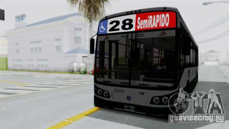 TodoBus Pompeya II Scania K310 Linea 28 для GTA San Andreas