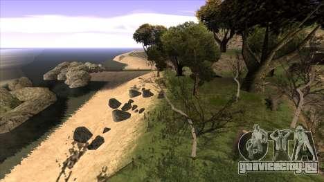 Строительство моста и густой лес для GTA San Andreas шестой скриншот