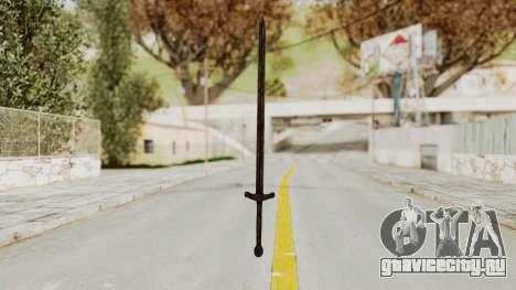 Skyrim Iron Sword для GTA San Andreas второй скриншот