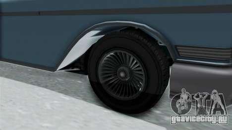 GTA 5 Declasse Tornado No Bobbles and Plaques для GTA San Andreas вид сзади