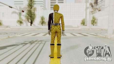 Power Rangers S.P.D - Yellow для GTA San Andreas третий скриншот