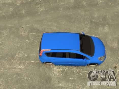 Nissan Note для GTA 4 вид справа