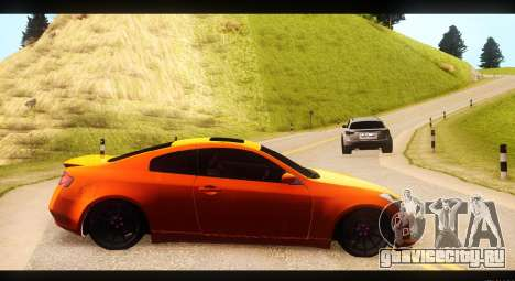 Infiniti G35 для GTA San Andreas вид слева
