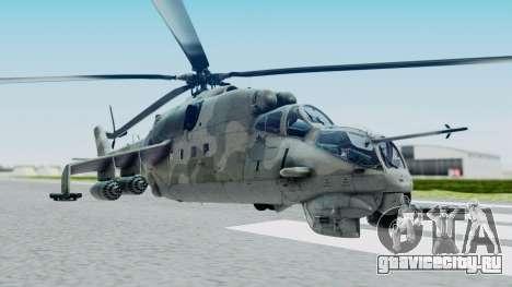 Mi-24V Croatian Air Force H-035 для GTA San Andreas