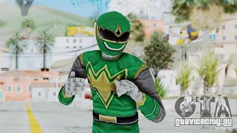 Power Rangers Ninja Storm - Green для GTA San Andreas