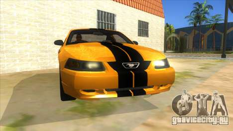 2003 Ford Mustang для GTA San Andreas вид сзади