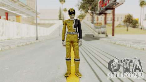 Power Rangers S.P.D - Yellow для GTA San Andreas второй скриншот