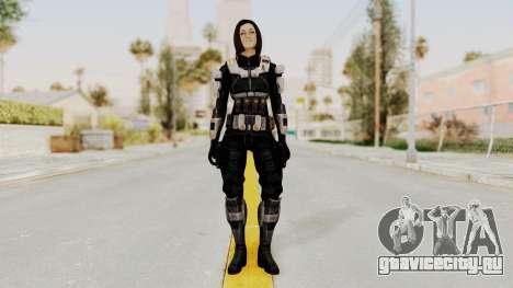 Mass Effect 3 Miranda Short Hair Ajax Armor для GTA San Andreas второй скриншот