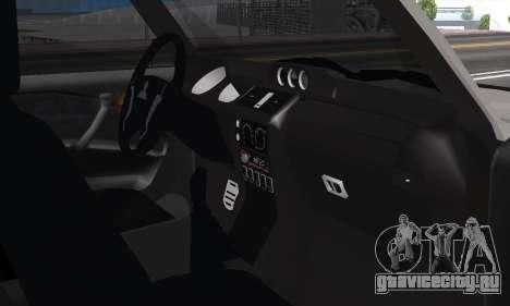 Mitsubishi Pajero 2 для GTA San Andreas вид изнутри