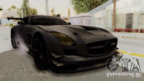 Mercedes-Benz SLS AMG GT3 PJ1 для GTA San Andreas вид справа