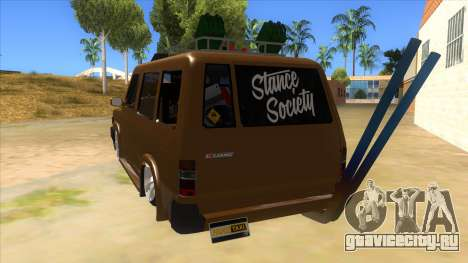 Toyota Kijang Grand Extra Full для GTA San Andreas вид сзади слева