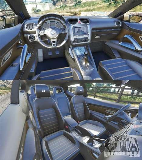 Volkswagen Scirocco R III Typ 13 2011 для GTA 5