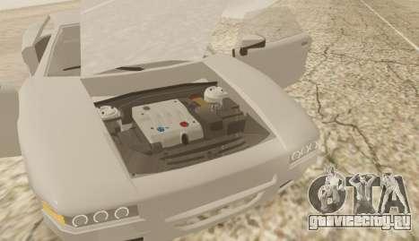 Infernus для GTA San Andreas вид сзади слева