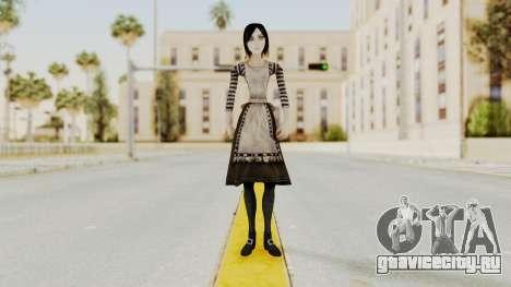 Alice London Madness Returns для GTA San Andreas второй скриншот