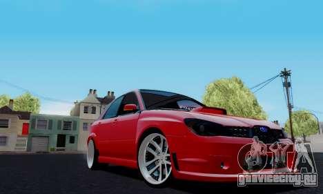 Subaru Impreza WRX STi Wagon Fox 2007 для GTA San Andreas