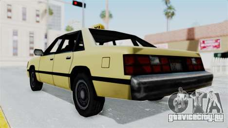 GTA Vice City - Taxi для GTA San Andreas вид справа