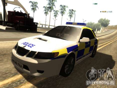 SAAB 9-2 Aero Turbo Generic UK Police для GTA San Andreas
