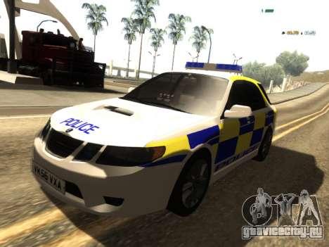 SAAB 9-2 Aero Turbo Generic UK Police для GTA San Andreas