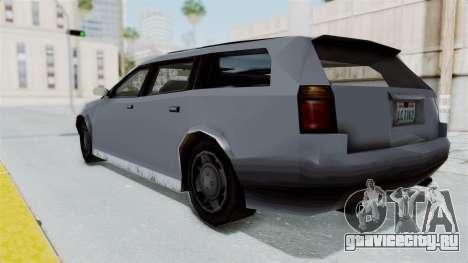 GTA LCS Sindacco Argento v2 для GTA San Andreas вид слева